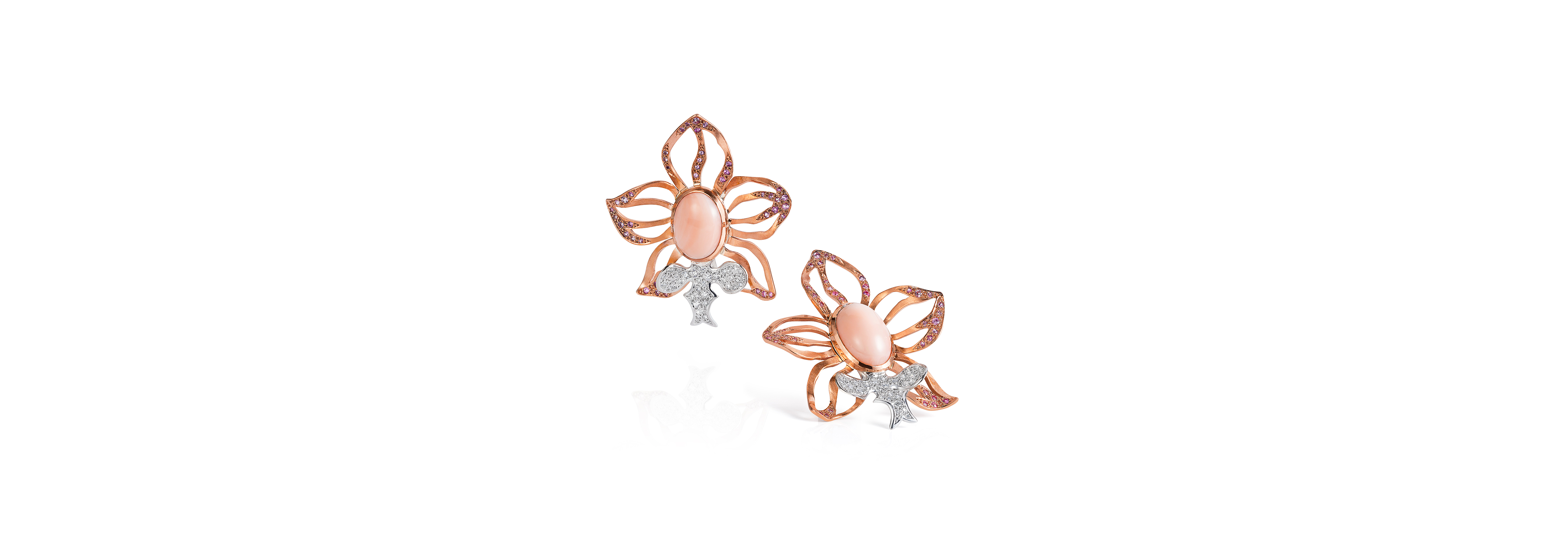Queen Orchid Earrings